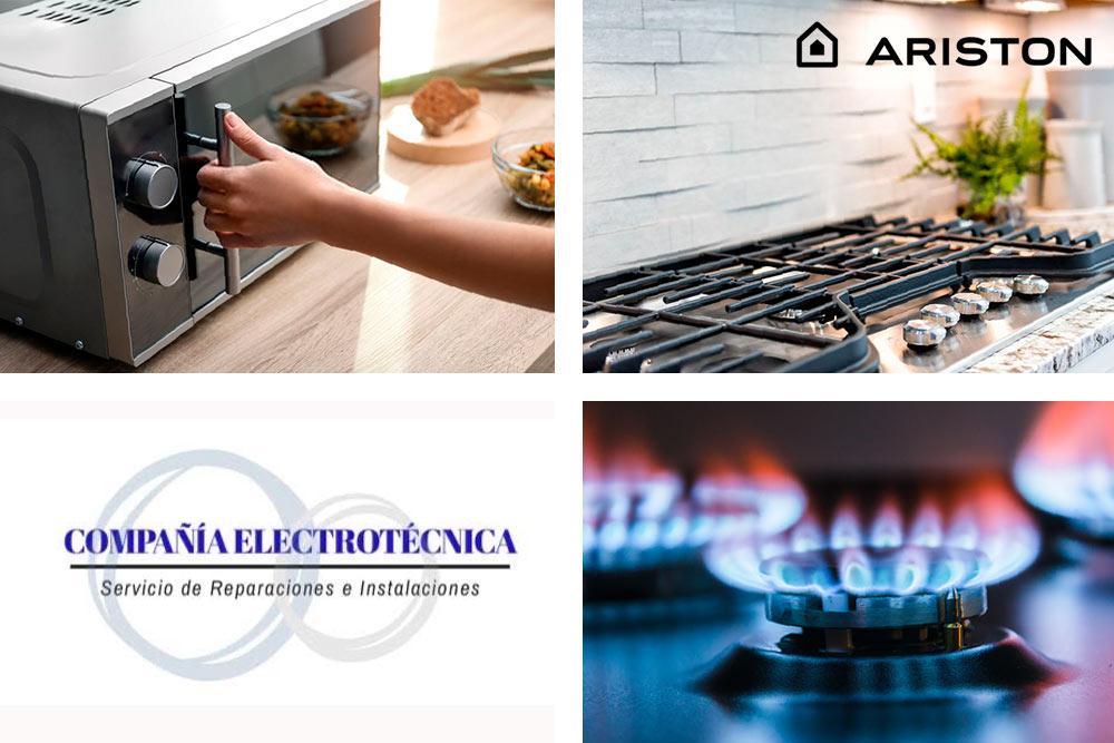 Service hornos cocinas lavarropas Ariston